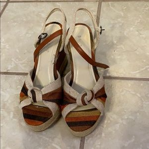 Cute Brown wedges